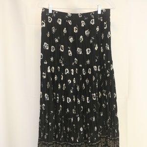 Wrangler Prairie Rose Women's L/36 Skirt Tiered